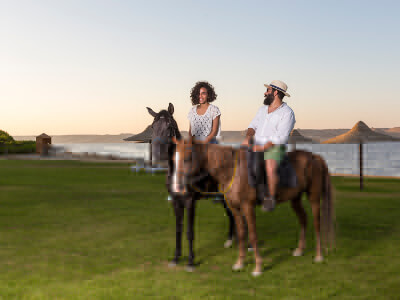 Horse Riding Byoum Lakeside Hotel Fayoum